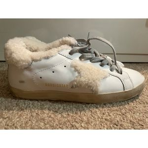 Sold 😘Golden Goose Superstar Shearling Lined Sneakers
